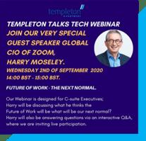 Webinars Zoom CIO Harry Moseley Tech Leaders